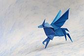 Origami Flying Pegasus