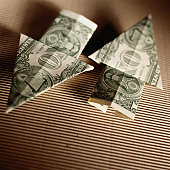 Origami Up and Down Arrows
