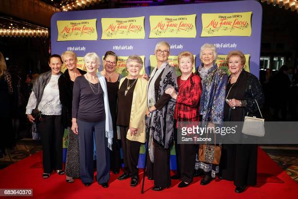 Original 1959 cast of My fair Lady at Regent Theatre on May 16 2017 in Melbourne Australia