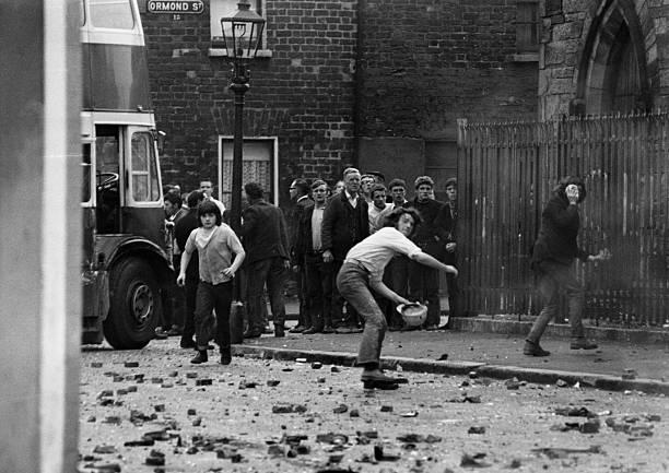 GBR: 3rd July 1970: 50th Anniversary of The Troubles-Falls Road Curfew