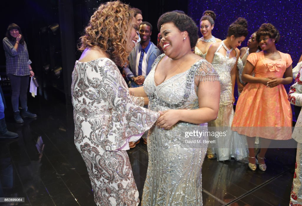 "Jennifer Holliday Visits The West End Production Of ""Dreamgirls"""