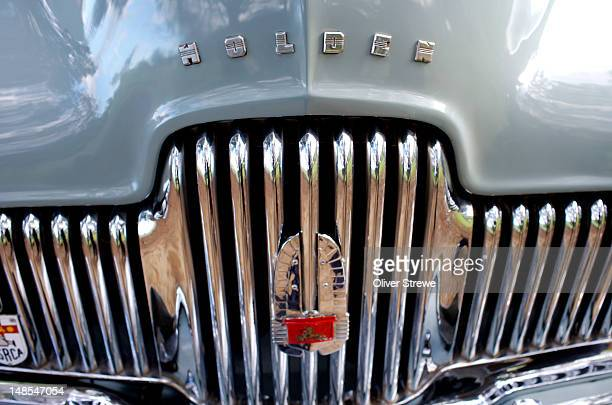Original Holden car front grill.