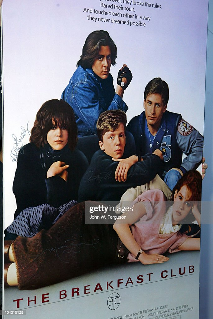 Original poster for the Breakfast Club for the Film Society of Lincoln Center's celebration of John Hughes on the 25th anniversary of his film 'The...