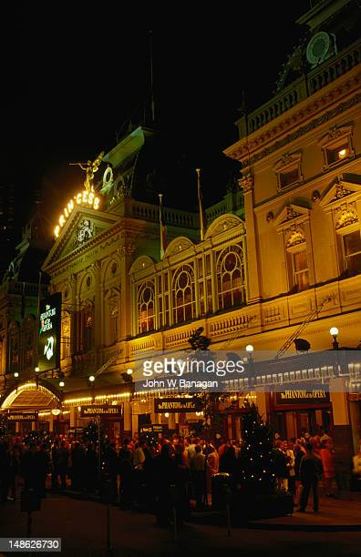 Originally the site of Astley's Amphitheatre, which opened in 1854 on the corner of Spring and Little Bourke Streets, now occupied by the Princess Theatre