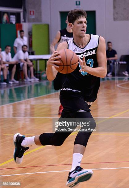 Oriol Pauli in action during Adidas Eurocamp Day One at La Ghirada sports center on June 10 2016 in Treviso Italy