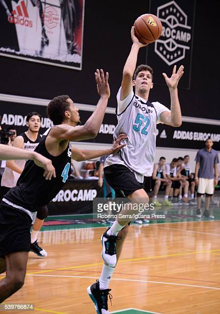 Oriol Pauli in action during Adidas Eurocamp Day Two at La Ghirada sports center on June 11 2016 in Treviso Italy
