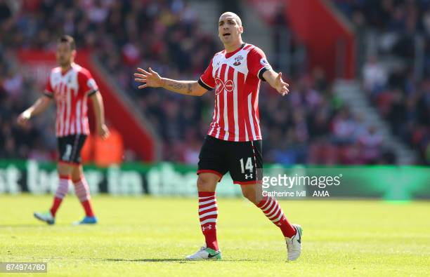 Oriol Romeu of Southampton during the Premier League match between Southampton and Hull City at St Mary's Stadium on April 29 2017 in Southampton...