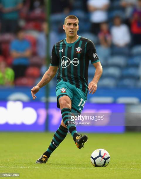 Oriol Romeu of Southampton during the Premier League match between Huddersfield Town and Southampton at John Smith's Stadium on August 26 2017 in...