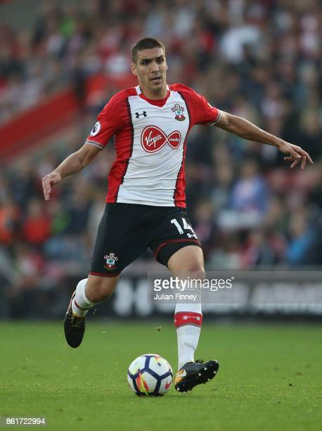 Oriol Romeu of Southampton in action during the Premier League match between Southampton and Newcastle United at St Mary's Stadium on October 15 2017...