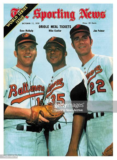 'Oriole Meal Ticket Dave McNally Mike Cuellar and Jim Palmer'