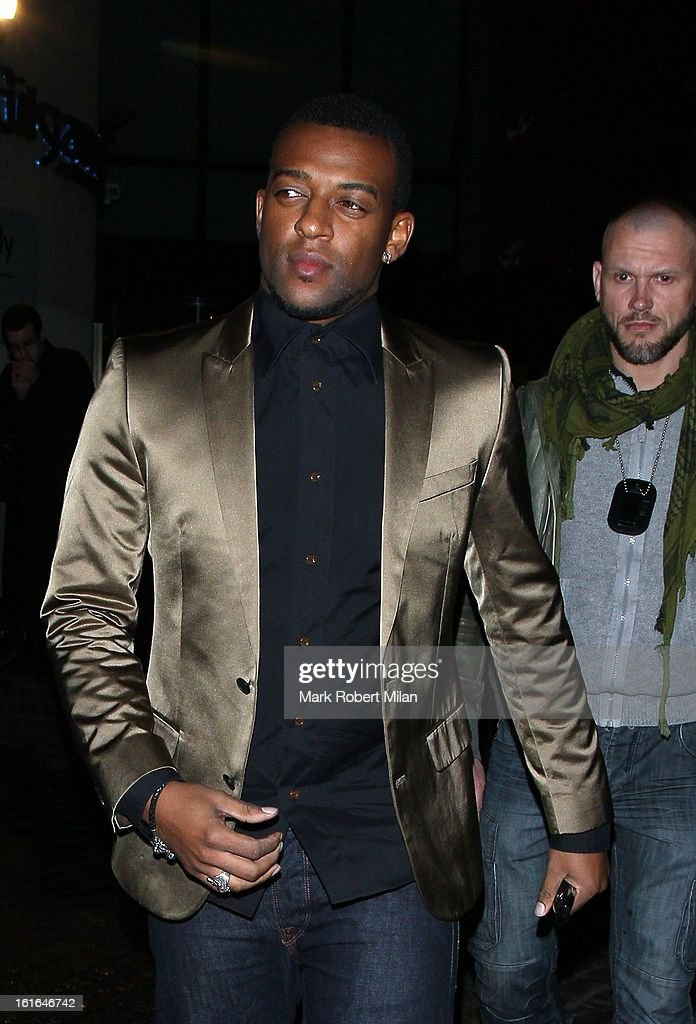 <a gi-track='captionPersonalityLinkClicked' href=/galleries/search?phrase=Oritse+Williams&family=editorial&specificpeople=5739700 ng-click='$event.stopPropagation()'>Oritse Williams</a> at Gilgamesh restaurant for Aston Merrygolds birthday celebrations on February 13, 2013 in London, England.