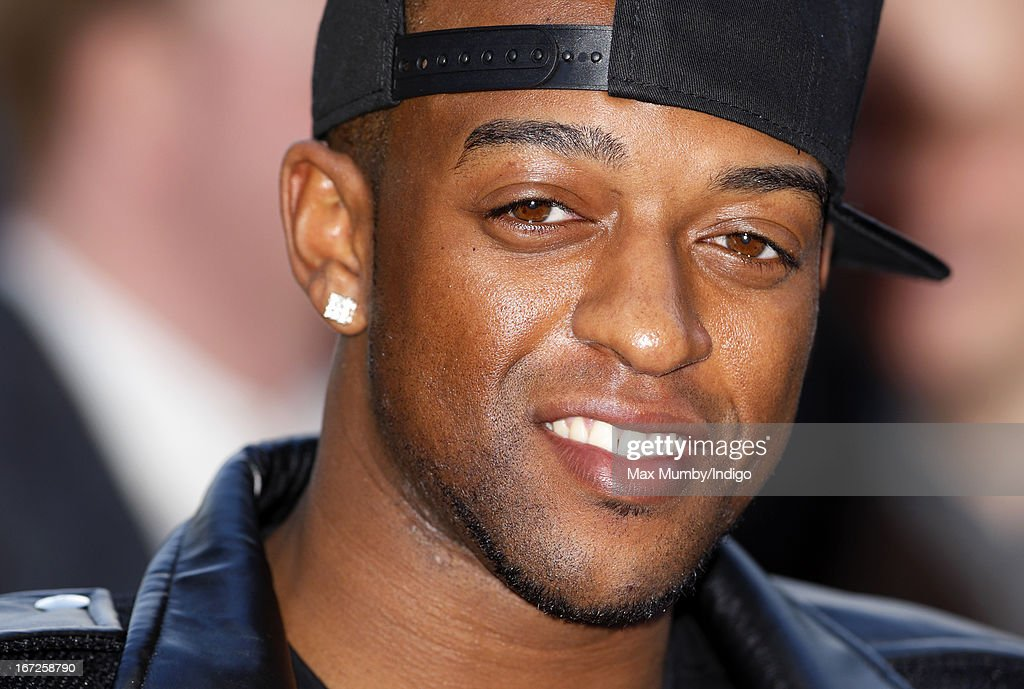 Oritse Williams attends a special screening of 'Iron Man 3' at Odeon Leicester Square on April 18, 2013 in London, England.