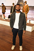 Oritse Williams attends the Barbour presentation during The London Collections Men SS17 at on June 10 2016 in London England