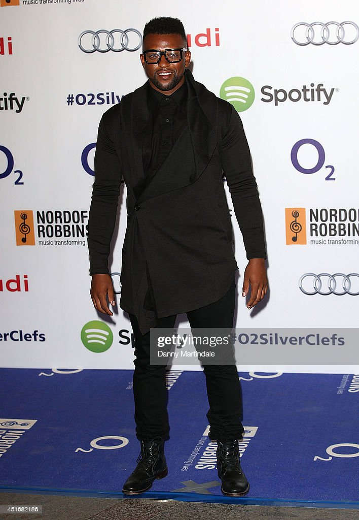 <a gi-track='captionPersonalityLinkClicked' href=/galleries/search?phrase=Oritse+Williams&family=editorial&specificpeople=5739700 ng-click='$event.stopPropagation()'>Oritse Williams</a> attends the Nordoff Robbins 02 Silver Clef awards at London Hilton on July 4, 2014 in London, England.