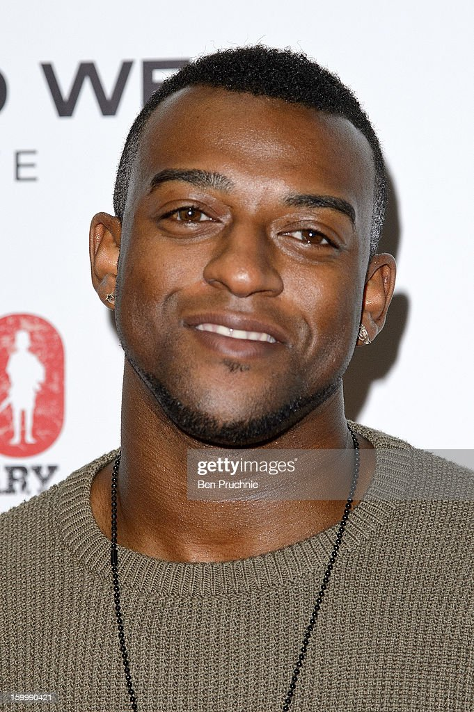 Oritse Williams of JLS attends the Raymond Weil pre-Brit Awards dinner and 20th anniversary celebration of War Child at The Mosaica on January 24, 2013 in London, England.