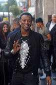 Oritse Williams of JLS pictured at Radio 1 on September 6 2012 in London England