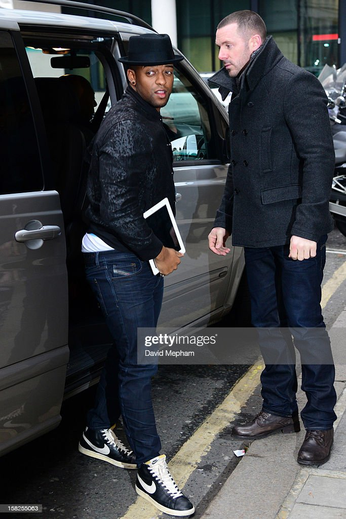 <a gi-track='captionPersonalityLinkClicked' href=/galleries/search?phrase=Oritse+Williams&family=editorial&specificpeople=5739700 ng-click='$event.stopPropagation()'>Oritse Williams</a> of JLS visits BBC Radio Two on December 12, 2012 in London, England.