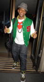 Oritse Williams sighting at May Fair Hotel on July 1 2010 in London England