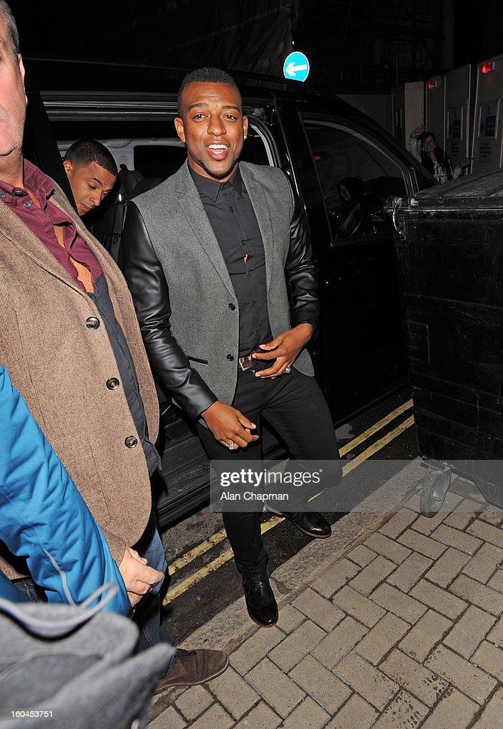 Oritse Williams sighting on January 31, 2013 in London, England.