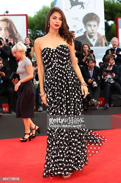 Orizzonti Jury Member Moran Atias attends the Closing Ceremony of the 71st Venice Film Festival on September 6 2014 in Venice Italy