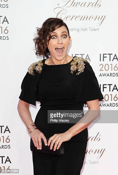 Orla Brady attends the 2016 IFTA Film Drama Awards at Mansion House on April 9 2016 in Dublin Ireland