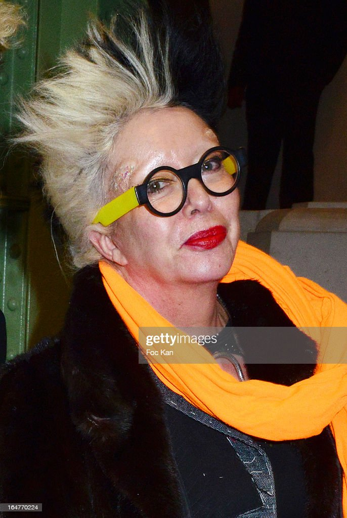 Orlan attends the 'Art Paris 2013' Preview at Le Grand Palais on March 27, 2013 in Paris, France.