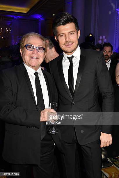 Orlando and Vincent Niclo attends 'The Best Award Gala 40th Edition' at Four Seasons George V Hotel on January 27 2017 in Paris France