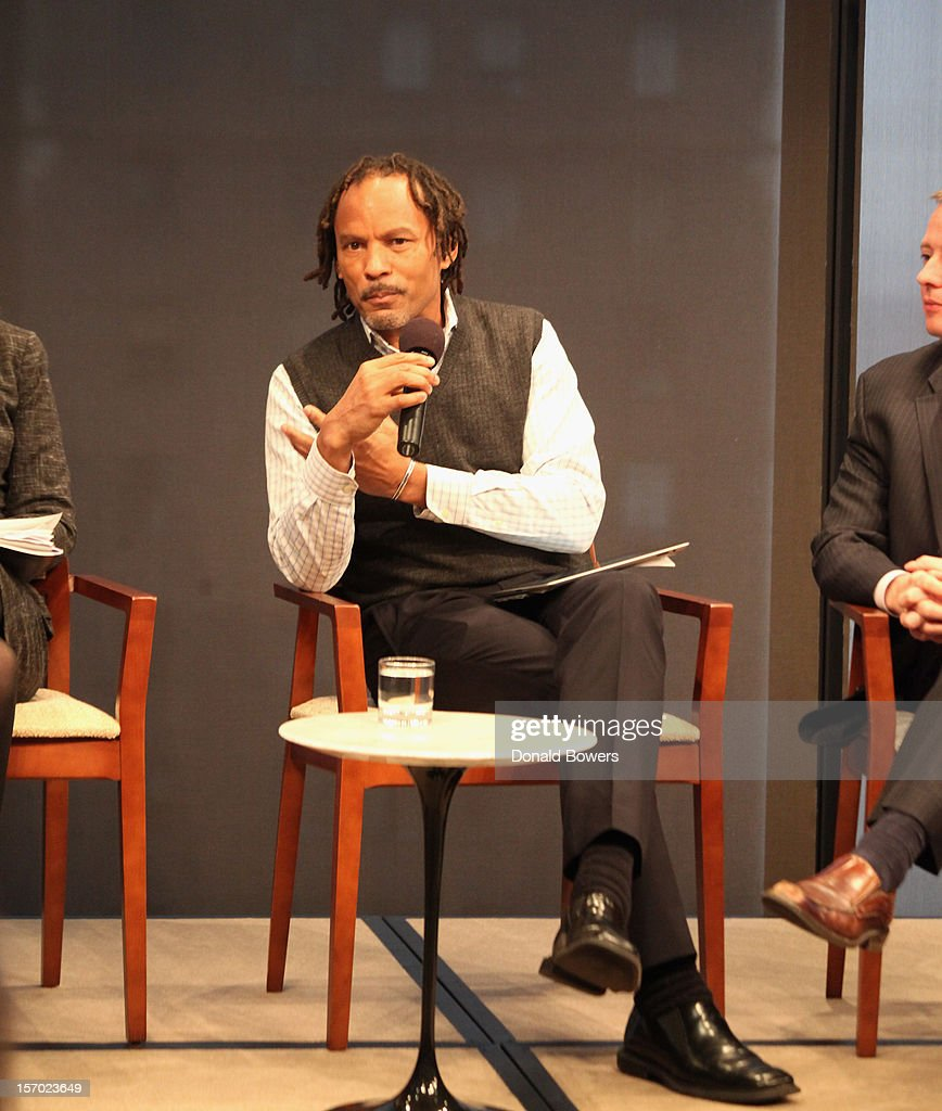 Orlando Bagwell speaks during a panel at The Ford Foundation Hosts Day Of Discussion On The Hidden World Of Domestic Work In The US at Ford Foundation on November 27, 2012 in New York City.