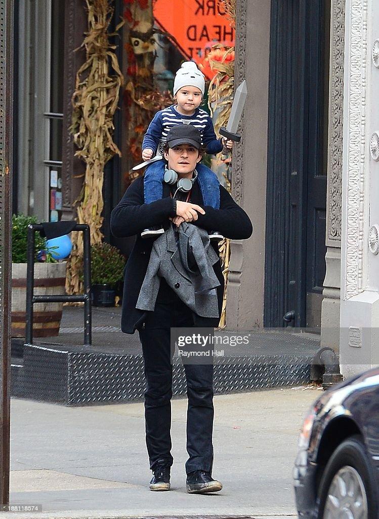 Celebrity Sightings In New York City - November 15, 2013