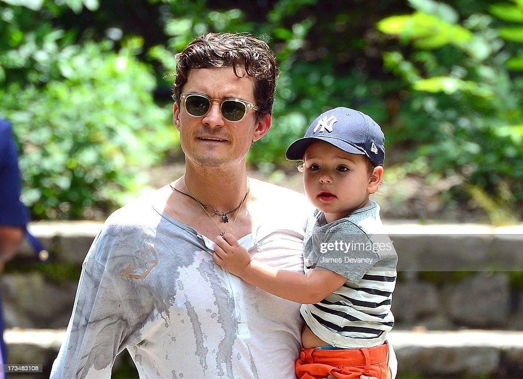 Celebrity Sightings In New York City - July 14, 2013