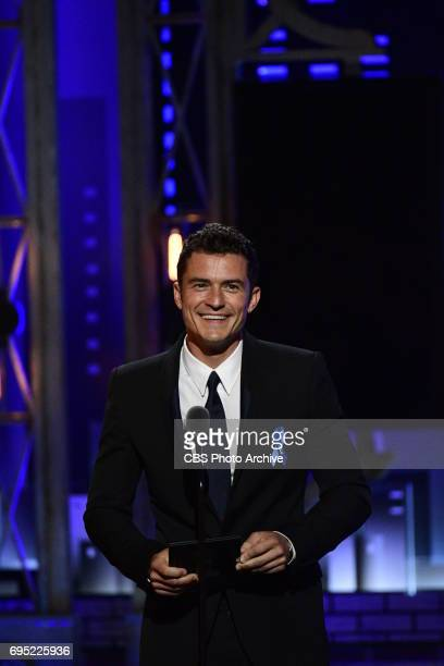 Orlando Bloom at THE 71st ANNUAL TONY AWARDS broadcast live from Radio City Music Hall in New York City on Sunday June 11 2017 on the CBS Television...