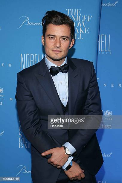 Orlando Bloom attends 2015 UNICEF Snowflake Ball at Cipriani Wall Street on December 1 2015 in New York City