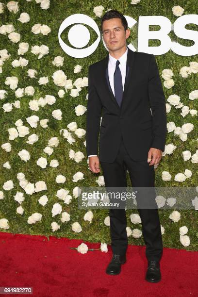 Orlando Bloom attends the 2017 Tony Awards at Radio City Music Hall on June 11 2017 in New York City