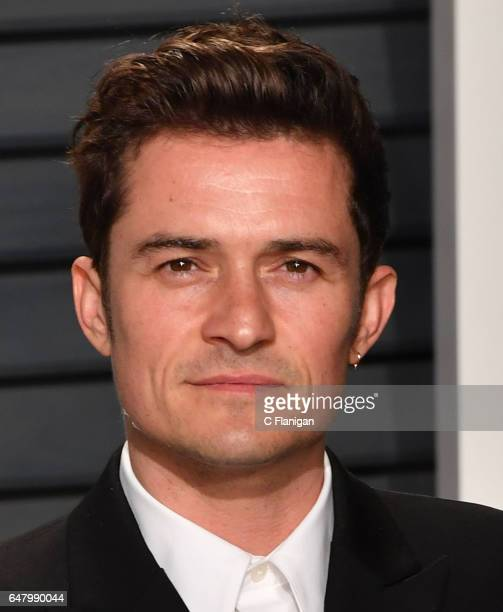 Orlando Bloom attends the 2017 Vanity Fair Oscar Party hosted by Graydon Carter at Wallis Annenberg Center for the Performing Arts on February 26...