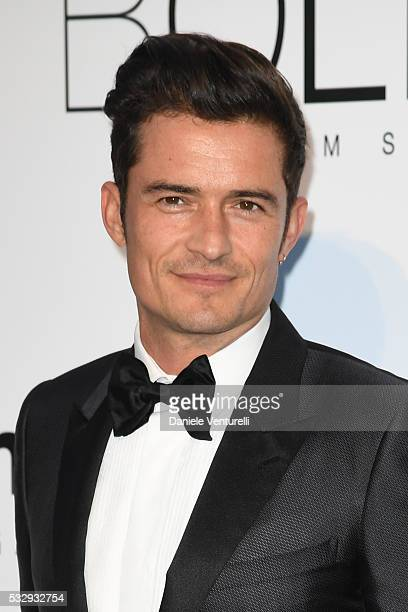 Orlando Bloom attends the amfAR's 23rd Cinema Against AIDS Gala at Hotel du CapEdenRoc on May 19 2016 in Cap d'Antibes