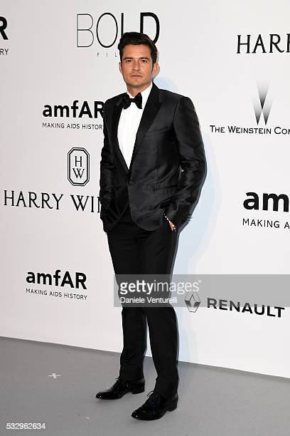 Orlando Bloom attends the amfAR's 23rd Cinema Against AIDS Gala at Hotel du CapEdenRoc on May 19 2016 in Cap d'Antibes France