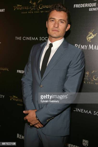 Orlando Bloom attends The Cinema Society with Remy Martin Frederique Constant host a screening of 'Pirates of the Caribbean Dead Men Tell No Tales'...