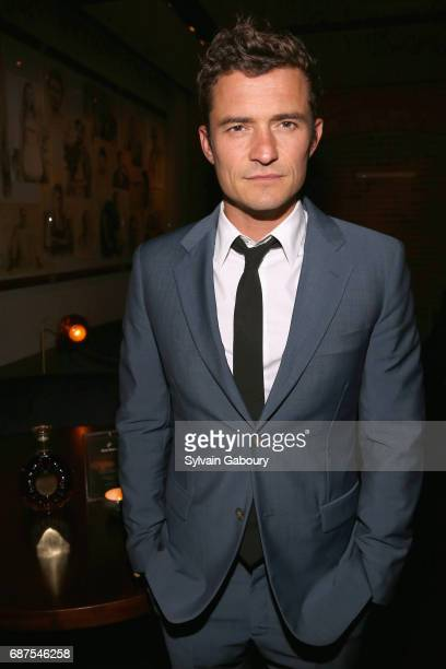 Orlando Bloom attends The Cinema Society with Remy Martin Frederique Constant host the after party for 'Pirates of the Caribbean Dead Men Tell No...