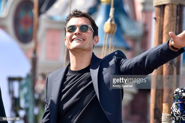 PARIS MAY 14 Orlando Bloom attends the European Premiere to celebrate the release of Disney's 'Pirates of the Caribbean Salazar's Revenge' at...