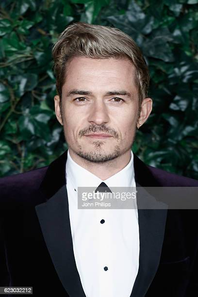 Orlando Bloom attends The London Evening Standard Theatre Awards at The Old Vic Theatre on November 13 2016 in London England