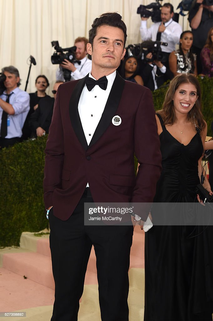 Orlando Bloom attends the 'Manus x Machina: Fashion In An Age Of Technology' Costume Institute Gala at Metropolitan Museum of Art on May 2, 2016 in New York City.