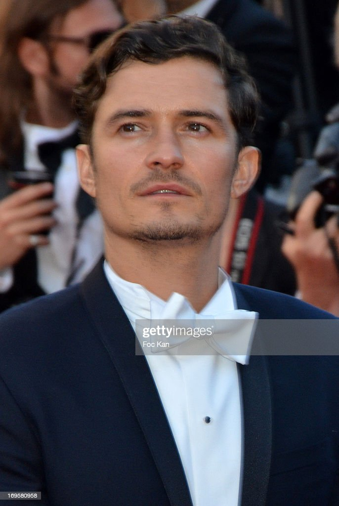Orlando Bloom attends the Premiere of 'Zulu' and the Closing Ceremony of The 66th Annual Cannes Film Festival at Palais des Festivals on May 26, 2013 in Cannes, France.