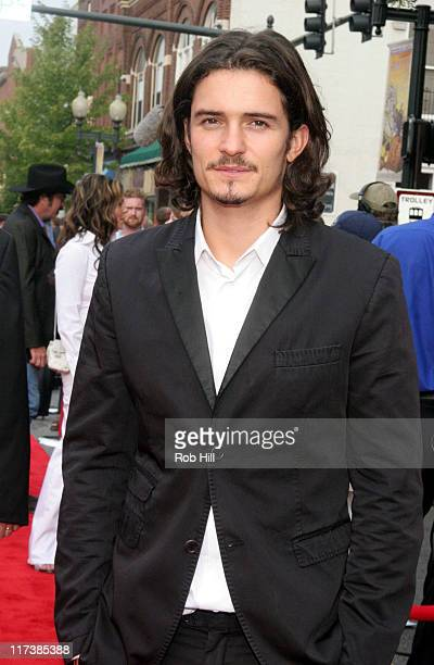 Orlando Bloom during CMT Hosts the 'Elizabethtown' Movie Premiere Arrivals at Franklin Cinema in Nashville Tennessee United States