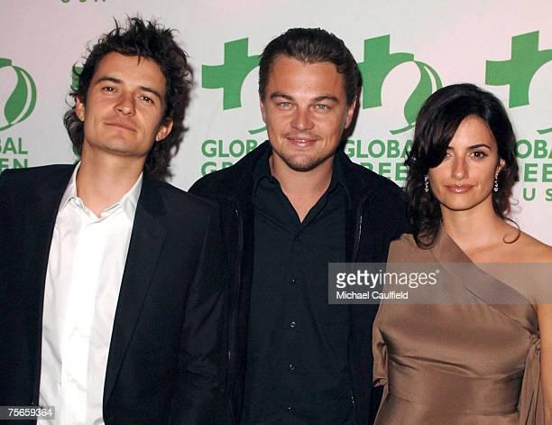 Orlando Bloom Leonardo DiCaprio and Penelope Cruz *EXCLUSIVE*