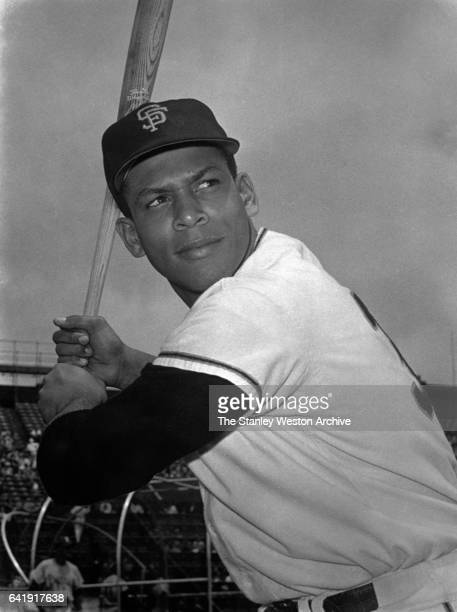 Orlando Cepeda rookie first baseman and left fielder of the San Francisco Giants poses for a portrait in 1958