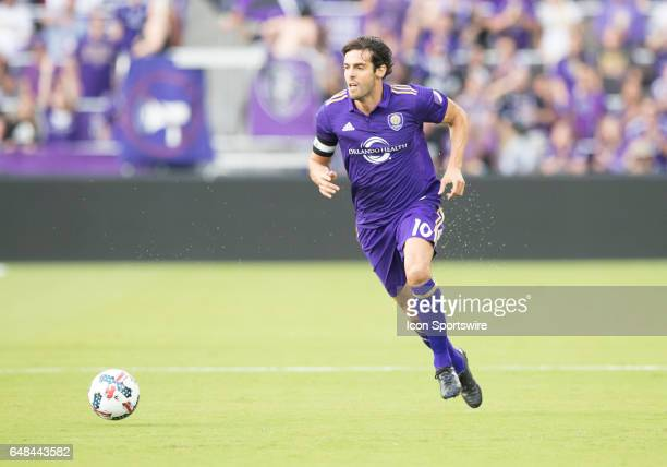 Orlando City FC midfielder Kaka starts his run in the opening minutes of the game during the MLS soccer match between the Orlando City FC and New...