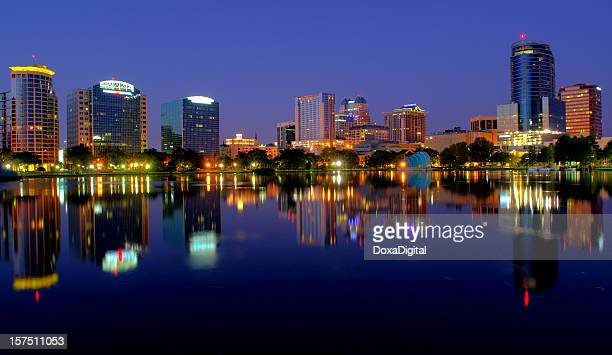 Orlando Cityscape in Early Morning