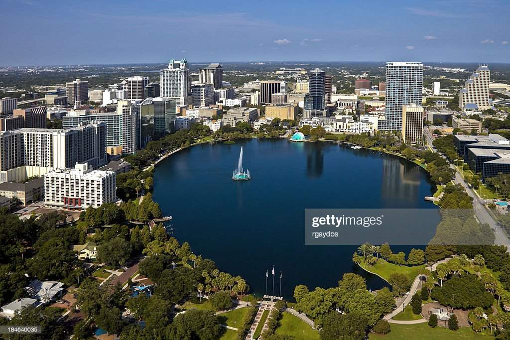 'Orlando, Florida Skyline'