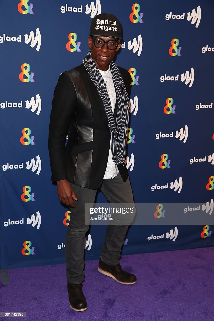 Orlando Jones arrives at the 'American Gods' advance screening In Partnership with GLAAD at The Paley Center for Media on May 10, 2017 in Beverly Hills, California.