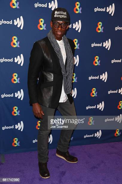 Orlando Jones arrives at the 'American Gods' advance screening In Partnership with GLAAD at The Paley Center for Media on May 10 2017 in Beverly...